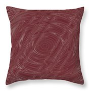 Eye In Vortex Throw Pillow