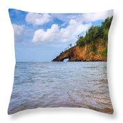 Eye-land Ciceron St. Lucia Throw Pillow