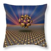 'eye' Of Conformity Throw Pillow