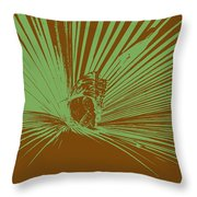 Eye Of The Beholder Throw Pillow by Sean Green