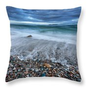 Eye Of The Storm Square Throw Pillow