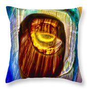 Eye Of Zeus Throw Pillow by Omaste Witkowski