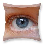 Eye Phone Case Throw Pillow