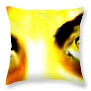 Eyes From The Inside 2 Throw Pillow