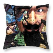 Eyes In Disguise  Throw Pillow