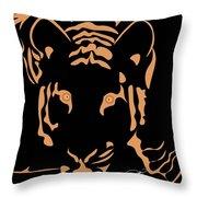 Eyes Of A Tiger 3 Throw Pillow