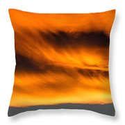 Eyes Of Sauron Throw Pillow