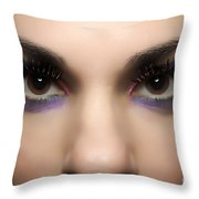 Eyes Of The Beholder Throw Pillow