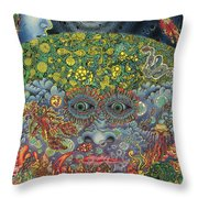 Eyes Of The Mind Throw Pillow