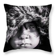Eyes On Stun Throw Pillow
