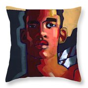 Eyes On The Prize Throw Pillow by Douglas Simonson