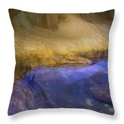 Eyes Water Throw Pillow