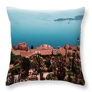 Eze France Throw Pillow