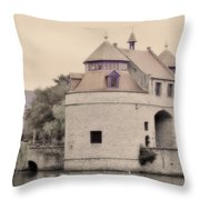 Ezelport City Gate In Bruges Throw Pillow