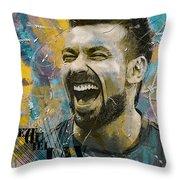 Ezequiel Lavezzi Throw Pillow