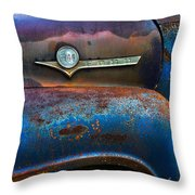 F-100 Ford Throw Pillow by Debra and Dave Vanderlaan
