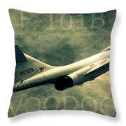 F-101b Voodoo Throw Pillow