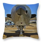 F-105b Tunderchief Throw Pillow