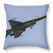 F-16 Falcon Throw Pillow
