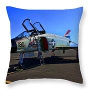 F-4 Phantom II No. 11 Throw Pillow