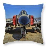 F-4c Phantom II Throw Pillow