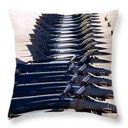 F-4e Phantom II Aircraft Throw Pillow