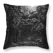 Pen And Ink Clouds 1 Throw Pillow