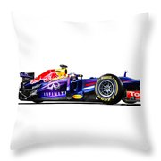 F1 Red Bull Rb9 Throw Pillow