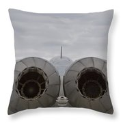 F18 Hornet Throw Pillow