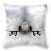 F4 Phantom Throw Pillow