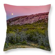 F8 And Be There - Enchanted Rock Texas Hill Country Throw Pillow