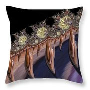 F927 Roots Throw Pillow