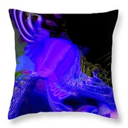 Fabrication Unit At Vector 7359 Throw Pillow