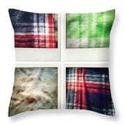 Fabrics Throw Pillow