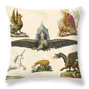 Fabulous Animals Throw Pillow