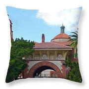 Fabulous Flagler College Throw Pillow