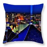 Fabulous Las Vegas Throw Pillow