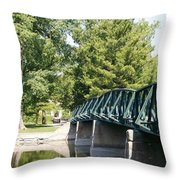 Fabyan Bridge Throw Pillow