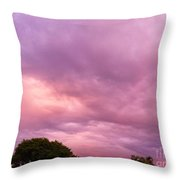Face In The Clouds 1 Throw Pillow