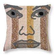 Face It Throw Pillow