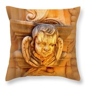 Face Of An Angel Throw Pillow