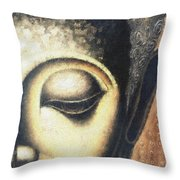 Face Pastel Chalk 2 Throw Pillow