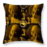 Faces For Peace Throw Pillow