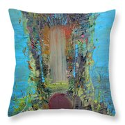 Faceshifting Throw Pillow