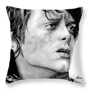 Facing The Darkness Throw Pillow