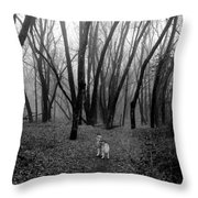 Facing Your Fears Throw Pillow
