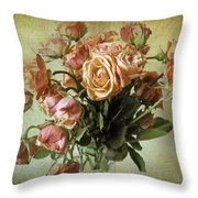 Fade Away Throw Pillow by Jessica Jenney