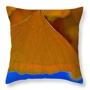 Fade To Autumn Throw Pillow