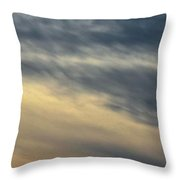 Fade To Black Throw Pillow