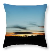 Fade To Night Throw Pillow